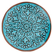 Cocinaware Summer Fest Melamine Salad Plate Turquoise