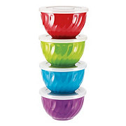 Cocinaware Swirl Prep Bowl With Lid