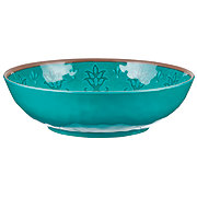 Cocinaware Turquoise Medallion Dinner Bowl
