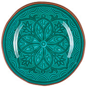 Cocinaware Turquoise Medallion Dinner Plate