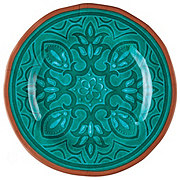 Cocinaware Turquoise Medallion Salad Plate