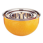 Cocinaware Yellow Speckled Mixing Bowl Set