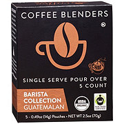 Coffee Blenders Barista Collection Guatemalan Single Serve Pour Over Coffee Pouches