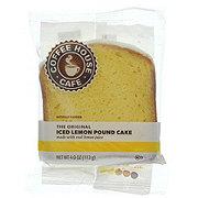 Coffee House Cafe the Original Iced Lemon Pound Cake