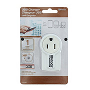 Coleman Cable USB Charger Outlet 360 Degree Rotate