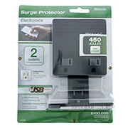 Coleman Cable Woods 2 Outlet + USB Surge Protector