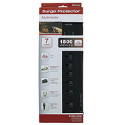 Coleman Cable Woods Multimedia Surge 7 Outlet Protectors