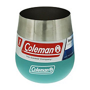 Coleman Claret Insulated Stainless Steel Wine Glass Seafoam