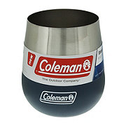 Coleman Claret Insulated Stainless Steel Wine Glass Slate