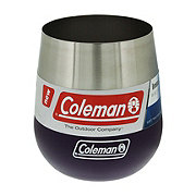 Coleman Claret Insulated Stainless Steel Wine Glass Vivid Violet