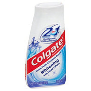 Colgate 2 in 1 Whitening Fluoride Toothpaste And Mouthwash