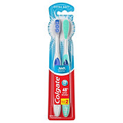 Colgate 360 Enamel Health Sensitive Toothbrush, Extra Soft - Colors May Vary