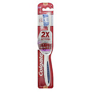 Colgate 360 Optic White Platinum Toothbrush, Soft - Colors May Vary