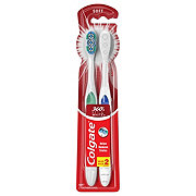 Colgate 360 Optic White Toothbrush, Soft - Colors May Vary