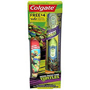 Colgate Kids Turtles Toothpaste and Power Toothbrush Holiday Pack