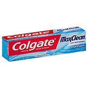Colgate Max Clean SmartFoam With Whitening Effervescent Mint Anticavity Fluoride Toothpaste