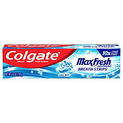 Colgate Max Fresh With Mini Breath Strips Cool Mint Toothpaste