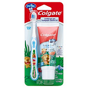 Colgate My First Toothbrush Toothpaste Starter Kit, Assorted Colors