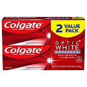 Colgate Optic White Sparkling Mint Toothpaste, 2 pk