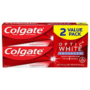 Colgate Optic White Sparkling Mint Toothpaste  Twin Pack
