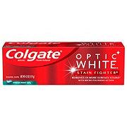 Colgate Optic White Stain Fighter Fresh Mint Gel
