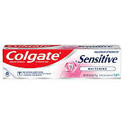 Colgate Sensitive Maximum Strength Whitening Toothpaste