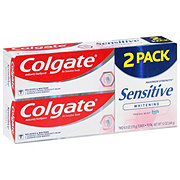 Colgate Sensitive Whitening Toothpaste Twin Pack