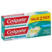 Colgate Total Advanced Fresh Whitening Tooth Paste Twin Pack