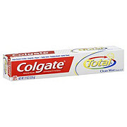 Colgate Total Anticavity Fluoride And Antigingivitis Clean Mint Paste Toothpaste