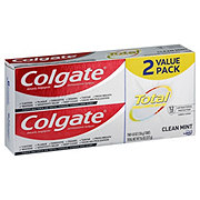 Colgate Total Clean Mint Twin Pack