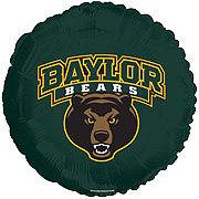 Collegiate 18 Inch Baylor Bears Football Foil Balloon