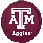 Collegiate 18 Inch Texas A&M Foil Balloon