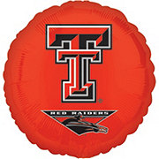 Collegiate 18 Inch Texas Tech University Foil Balloon