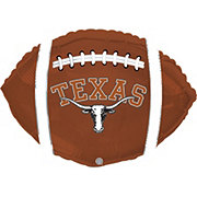 Collegiate 18 Inch University of Texas Football Foil Balloon
