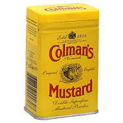 Colman's of Norwich Original English Double Superfine Mustard Powder