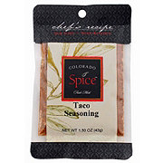Colorado Spice Chef's Recipe Colorado Spice Taco Seasoning
