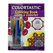 Colortastic Coloring Book with Dual Ended Color Pencils