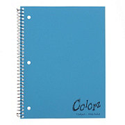 Colorz Wide Ruled 1 Subject Spiral Notebook, Colors May Vary