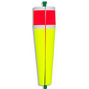 Comal Tackle 5 Inch Poppin Split Yellow & Red Weighted Float