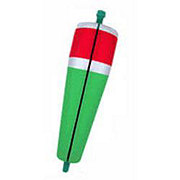 """Comal Tackle Red/Green 3"""" Popping Float with 32"""" Steel Leader"""