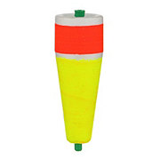 """Comal Tackle Red/Yellow 3"""" Weighted Poppin Float"""
