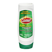 Comet Scratch Free with Bleach Soft Cleanser