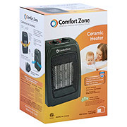 Comfort Zone Ceramic Fan Heater Black