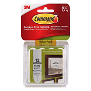 Command Medium Picture Hang Strips Value Pack