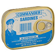 Commander Sardines In Soybean Oil