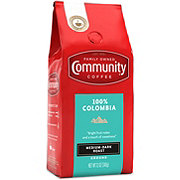 Community Coffee 100% Colombia Medium-Dark Roast Ground Coffee