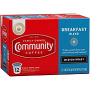 Community Coffee Breakfast Blend Medium Roast Single Serve Coffee K Cups