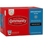 Community Coffee Breakfast Blend Medium Roast Single Serve Coffee K Cups