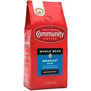 Community Coffee Breakfast Blend Medium Roast Whole Bean Coffee