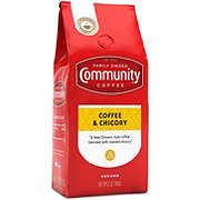 Community Coffee Coffee and Chicory Medium-Dark Roast Ground Coffee